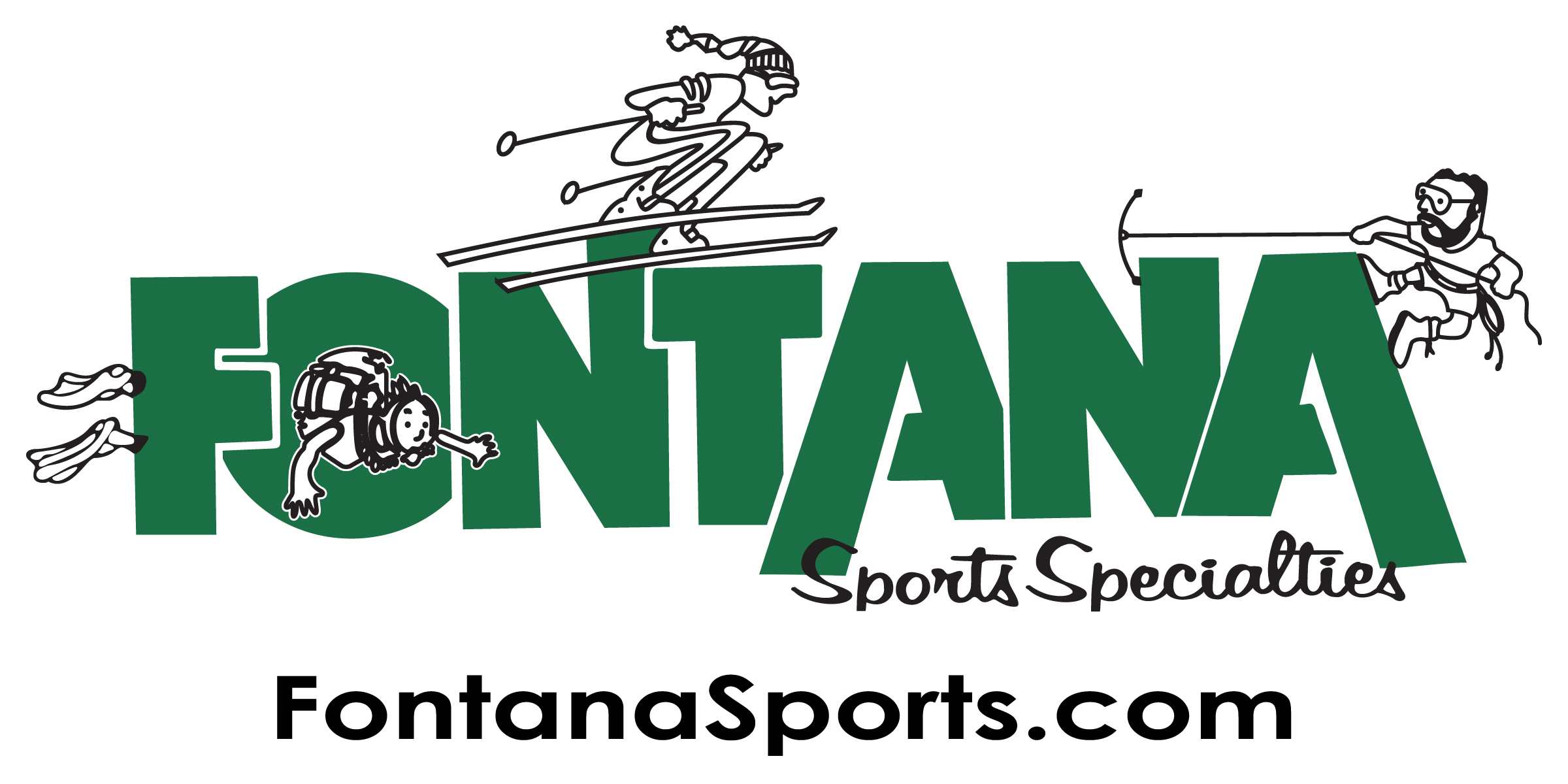 FAV High Res Fontana Logo in Green