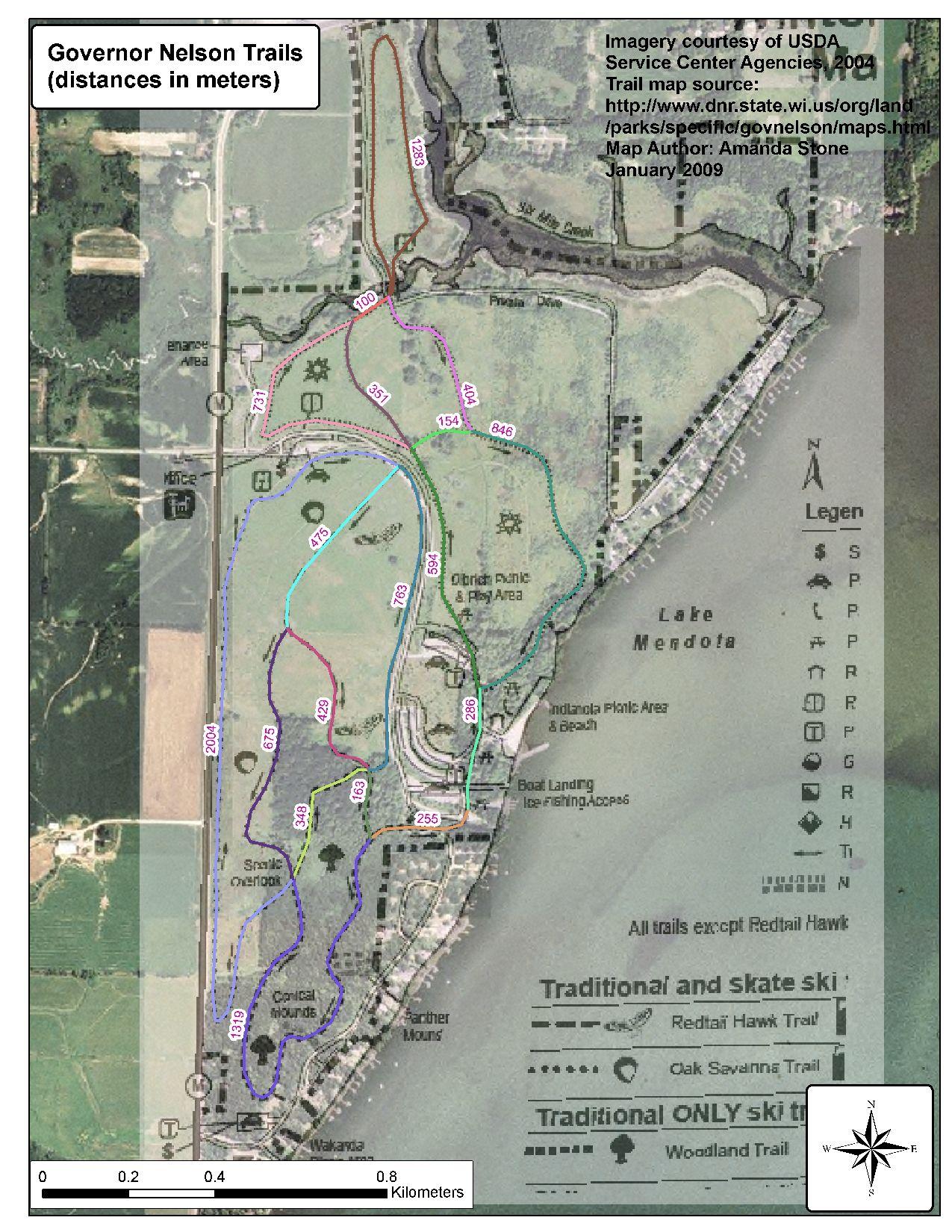 Area Trails Madnorski